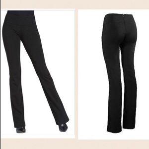 Cabi 966R Black back zip straight trouser pants 4